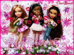 Happy Valentines Day!! From Vitria, Hope and Carol Parvati (2x) to everyone who is looking at this picture (Carol Parvati ) Tags: party hope doll dolls vitria springbreak sasha yasmin valentinesday bratz 2010 cloe summersizzle wintertimewonderland carolparvati