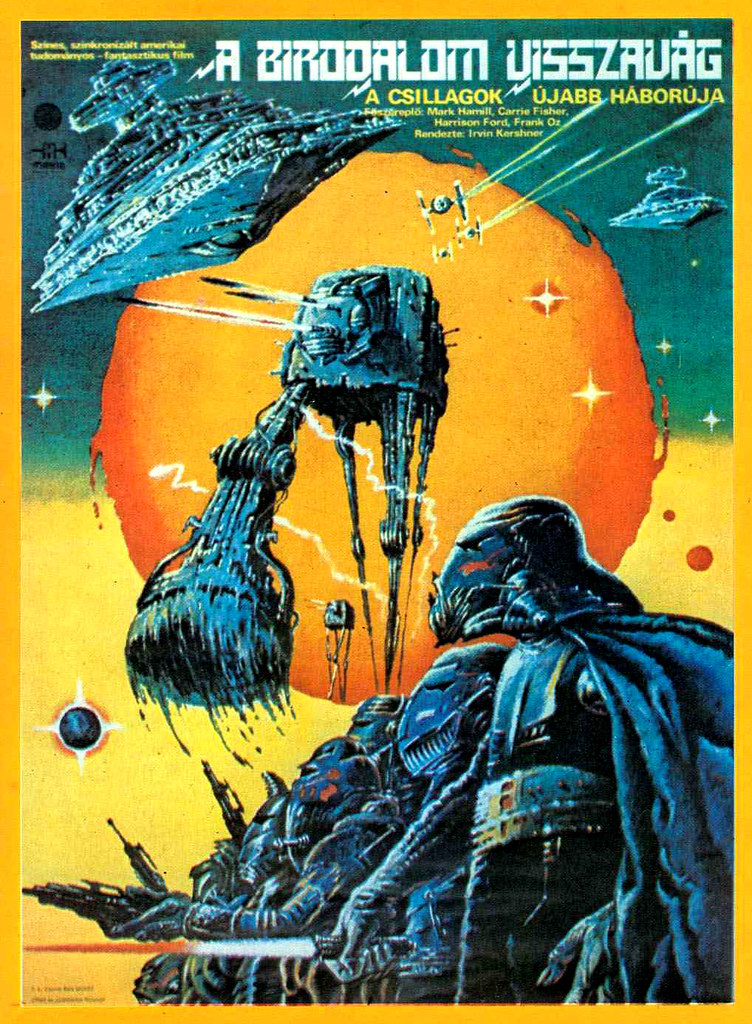 Star Wars - Empire Strikes Back (Hungarian Film Poster)