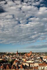 Over the town (Slav.Burn) Tags: toruń poland tower