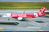 """SIN.2015 # QZ - A320 PK-AZF """"8,000th Airbus"""" awp (CHR / AeroWorldpictures Team) Tags: airasia indonesia airbus a320216wl cn 5706 engines cfmi cfm565b63 reg pkazf remarks 8000thairbus history aircraft first flight test fwwdc built site toulouse tls france delivered indonesiaairasia qz awq config cabin y180 a320 winglets airlines airways asian apron plane aircrafts airplanes planespotting nikon d300s lenses nikkor 70300vr raw awp 2015 singapore changi airport sin wsss"""