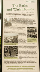 231 -  Saltaire - Former Baths and Wash House Info Board (1 of 1) (md2399photos) Tags: 2jun17 almshouses davidhockney robertspark saltaire saltaireunitedreformedchurch saltsmill victoriahall