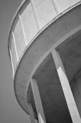 La vie de château... (BluRabbit) Tags: watertower châteaudeau réservoir tank noiretblanc nb blackandwhite bw nikon nikond5100 graphique ombres courbes curves larochelle