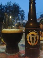 La Cabra del Maresme Imperial Stout (pep_tf) Tags: craftbeer cervesaartesana cervesaartesanal cabrerademar imperialstout