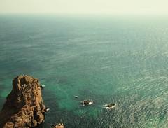 Lost in a sea of green (Gabriela B..) Tags: atlantic ocean green cabo da roca