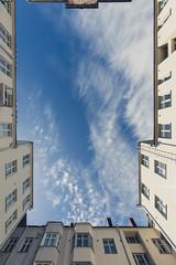 Dreams Far Above (Bunaro) Tags: sky above dreams clouds upwards skywards architecture treasure hidden helsinki finland suomi visitfinland nordic classicism bottle flask