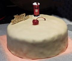 Christmas cake (bishib70) Tags: cake marzipan cherry
