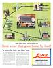 1957 Avis Rent-a-Car ad (Tom Simpson) Tags: avis avisrentacar car rental 1957 1950s vintage ad ads advertising advertisement vintagead vintageads map luraycaverns shenandoah washingtondc