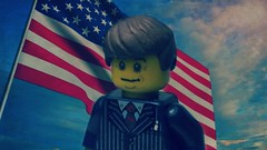 President John Fitzgerald Kennedy (「Zazzles1.0」) Tags: jfk john kennedy fitzgerald lego custom zazzles10 america murica 4th july fourth