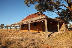 Tomingley West (Darren Schiller) Tags: tomingley newsouthwales abandoned architecture australia building country derelict disused decaying deserted dilapidated empty farming farmhouse galvanisediron history house old rural rustic ruins rusty tin verandah