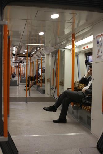 Class 378 interior