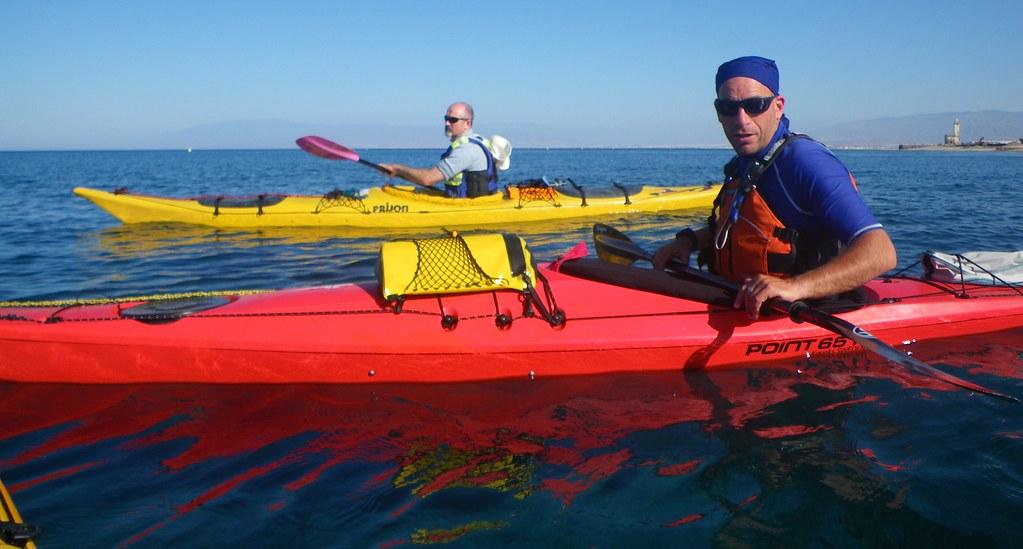Cabo de Gata en kayak 544