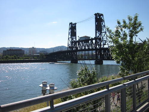 Steel Bridge from the Esplanade
