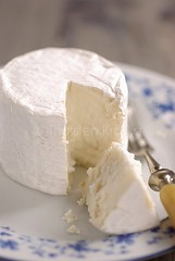 Say Cheese (Thorsten (TK)) Tags: food texture cheese french plate fork snack shape goatcheese fromage kse foodphotography foodpresentation ziegenkse thorstenkraska
