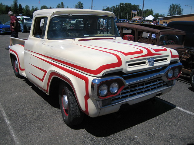 auto show ford car truck washington pickup f100 hotrod custom 1960 billetproof ratrod chehalis