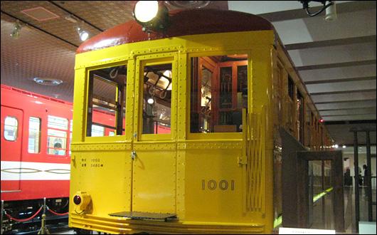 地下鉄博物館 銀座線1001号車