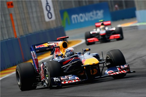 Vettel - European GP F1
