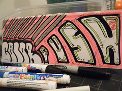 color & push (PUSHCORE) Tags: street urban white streetart black green art graffiti nikon sticker paint mail stickers tags spray push spraypaint trade markers trades slaps slapz paintmarkers pushtags pushcore 228label