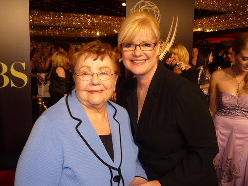 Bonnie Hunt and her mom by you.