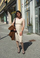 Weimar (Marie-Christine.TV) Tags: summer lady weimar tv dress outdoor feminine tgirl transvestite feminin mariechristine etuikleid