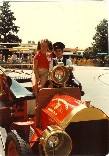 Kristen on Main Street 1981