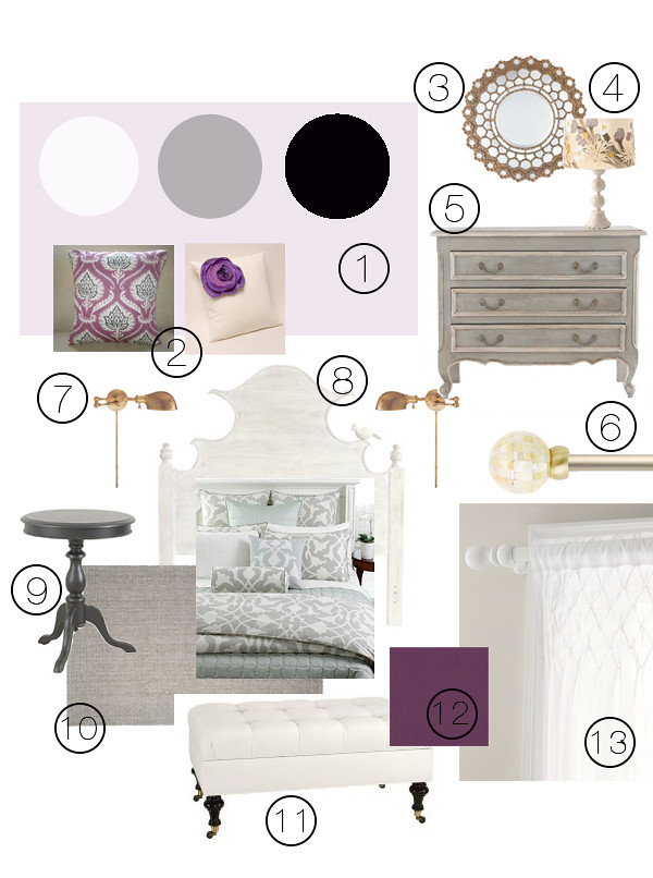 Pewter + Sage Mood Board Monday Challenge