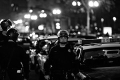 Used to Be a Victim (Thomas Hawk) Tags: california bw usa america oakland cops unitedstates unitedstatesofamerica police eastbay califorina oaklandpd opd oscargrant oaklandriot oaklandriot2009 oaklandriots2009 oscargrantriots oaklandriots
