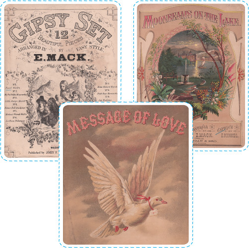Sheet Music Ephemera