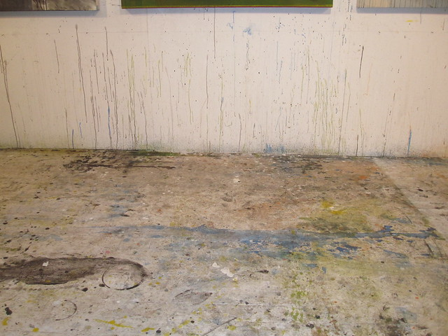 paint studio floor April 23, 2010