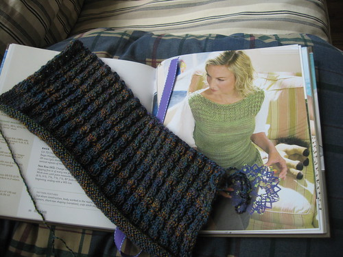 Dusk Jewel Hourglass ribbing
