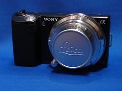 Sony NEX-5 + Leitz Elmar 35mm f3.5 Cmount (digitalbear) Tags: leica japan 35mm lens tokyo sony adapter elmar f35 leitz mmount cmount nex5 sankoseiki