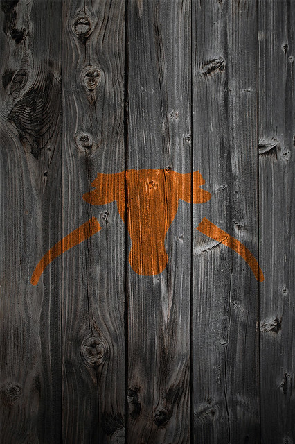 texas longhorn background wallpaper. Texas Longhorns Saw Em Off Wood iPhone 4 Background