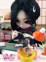 Nessa_Sesion05_12 (Sheryl Designs) Tags: vanessa doll wip workshop designs pullip custom sheryl nessa customizing taeyang sheryldesigns