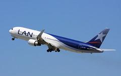 LAN Peru (CC-CDP) (A Sutanto) Tags: blue sky peru fly flying off lan lp take boeing livery ksfo b767 cccdp