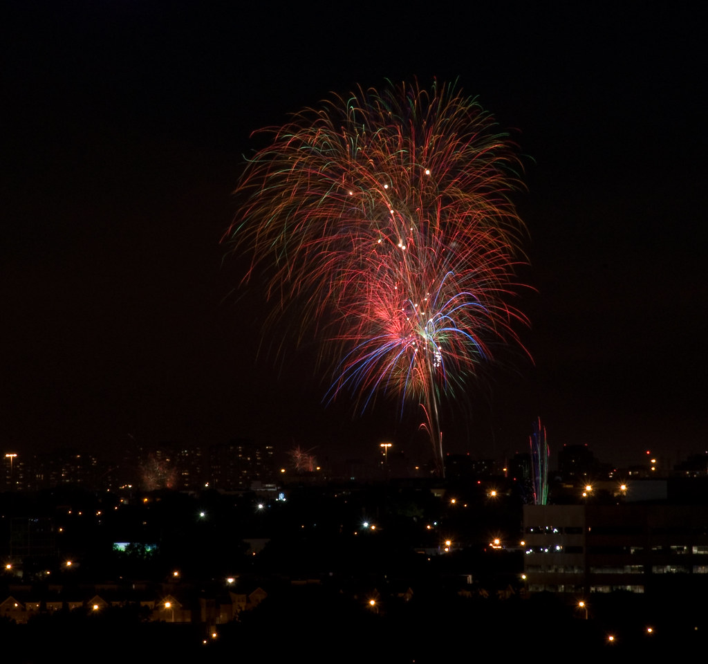 Canada Day Fireworks (Downsview) - 2010 - III