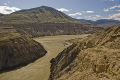 View of Canyon Looking Northwest From High Bar Road (showbizinbc) Tags: bc britishcolumbia canyon fraserriver cariboo chilcotin cowboycountry fraserriverbasin