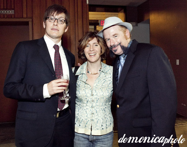 Rico Gagliano, Frances Anderton and John Chase