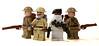 British Army (*Nobodycares*) Tags: lego wwii tommy worldwarii ww2 soldiers guns british worldwar2 commando allies uas sheath allied brickarms brickforge mmcb weirdwarii weirdwar2