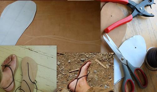 leather shoe handmade sandals barefoot huarache summershoes ingermaaike