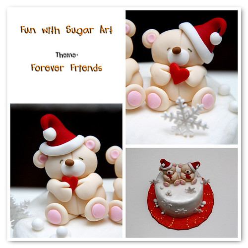 Fun with Sugar Art: Forever Friends