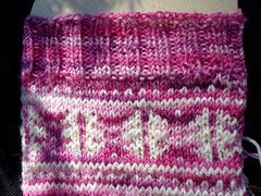 Laila Socks, Cast On