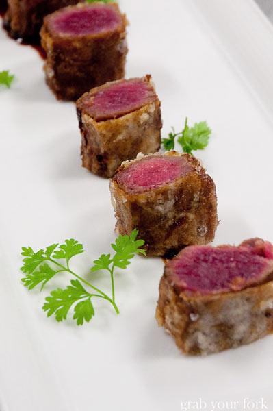 wolgan valley beef tempura