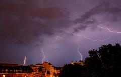 More lightnings (Geeno) Tags: sky cloud rain minolta sony pluie strasbourg ciel thunderstorm alpha nuage thunder orage lectricit lightnings thunderstruck tempte foudre clairs