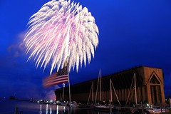 Marquette's Lower Harbor Ore Dock - 4th of July Fireworks - 2010 (PhotoYoop) Tags: travel usa art tourism geotagged artist fireworks stock professional cannon 4thofjuly marquette artisan visionary thegreatoutdoors professionalphotography digitalmedia genovese stockimagery michiganoutdoors welcometomichigan picturesofmichigan puremichigan photoyoop selftaughtprofessional