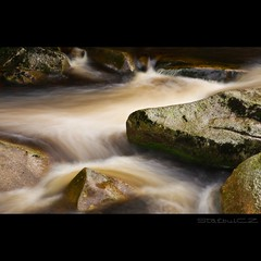 Vydra (StafbulCZ) Tags: longexposure water stone flow czech czechrepublic gettyimages sumava southbohemia vydra nd8 abigfave tamron175028 canoneos40d vydrariver stafbulcz jaroslavvondracek