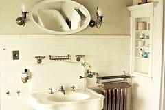 bathroom still life (dawn frary) Tags: vintage bathroom sink antique missouri hannibal subwaytile rockcliffemansion