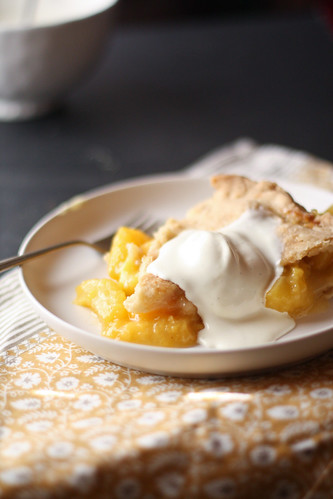 how to make homemade peach pie