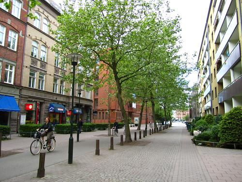 Woonerf, Kaptensgatan