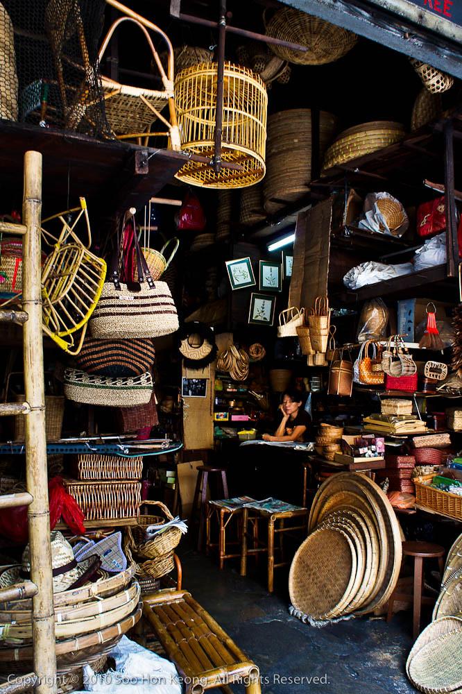 Rattan Shop @ KL, Malaysia