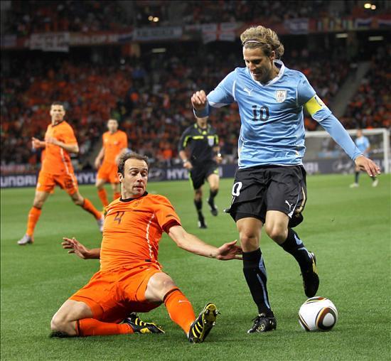 Holanda Uruguay Diego Forlán