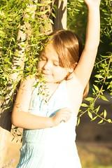 Kyra by the Tree 2
